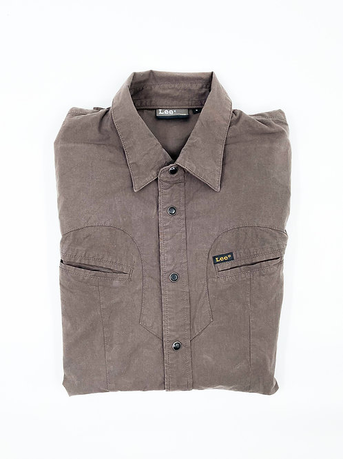 LEE BROWN AMERICANA OVERSHIRT