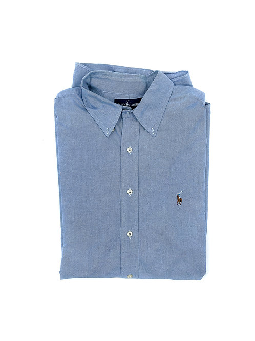 RALPH LAUREN BLUE OXFORD