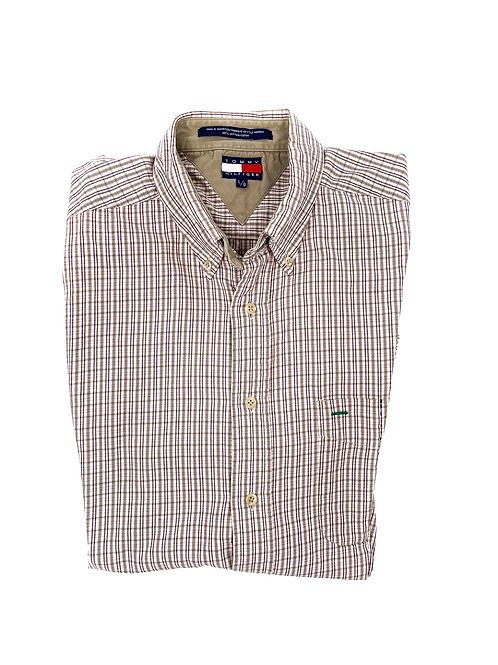 TOMMY HILFIGER BROWN CHECK