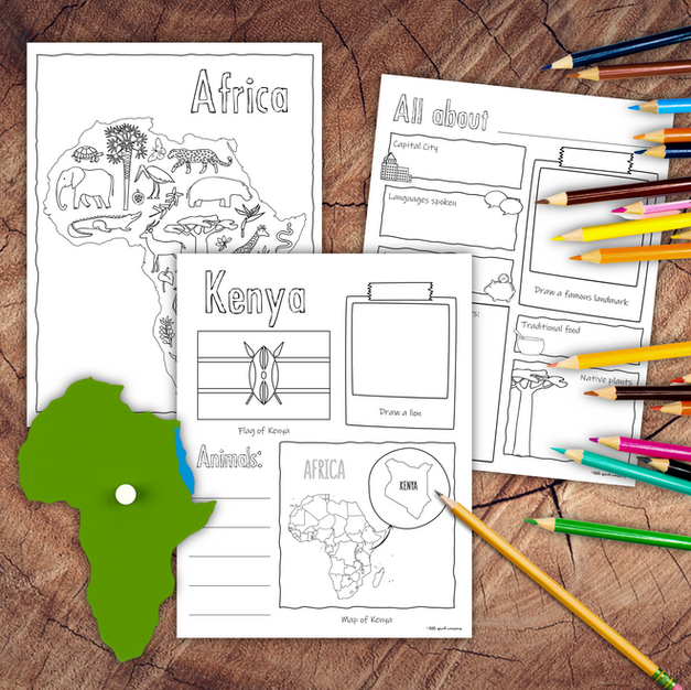 Countries of Africa Research Pack