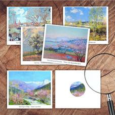 Spring Art Cards Set 2