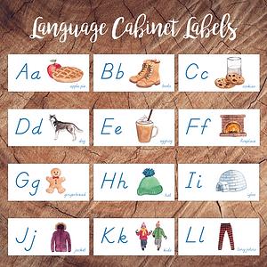 Winter Language Cabinet Labels Square.pn