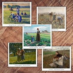 Fall Harvest Art Cards Square.jpg
