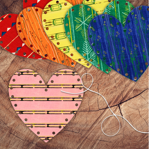 Valentine Hearts Lacing