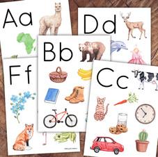 Beginning Letter Sounds Poster Set