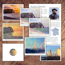 Monet's Etretat