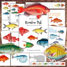 Rainbow Fish Preschool Basics Bundle