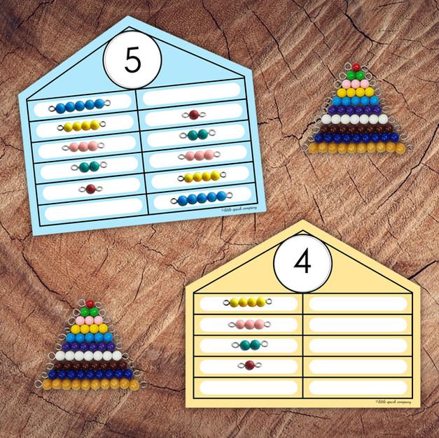 Printable Bead Houses
