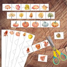 Autumn Scissor Strips Bundle