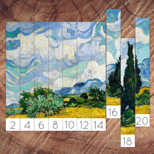 Skip Counting with Van Gogh