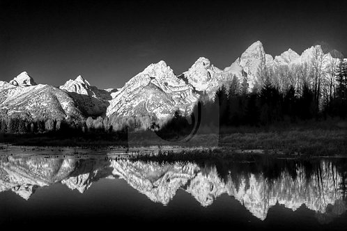 Early Winter Reflection - Teton Range