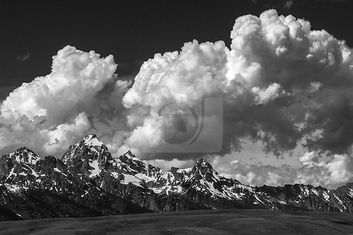 Teton Range - Grand Teton National Park