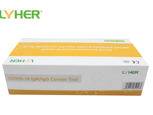 Rapid testing COVID-19 IgM/IgC Combo Test Antibody tests 9$ per kit