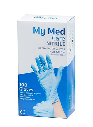 NEW!  My Med Nitrile Examination Gloves