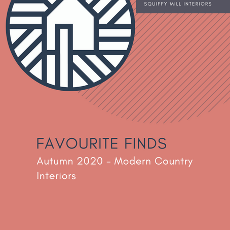 Favourite Finds | Autumn 2020 - Modern Country Interiors