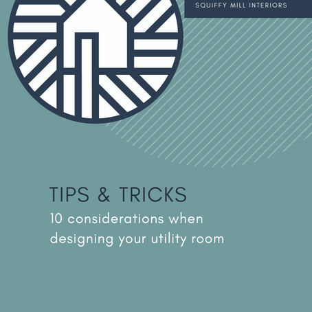 Tips & Tricks | 10 Considerations When Designing a Utility Room