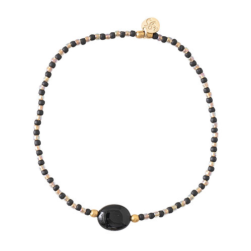 Winter Black Onyx Bracelet