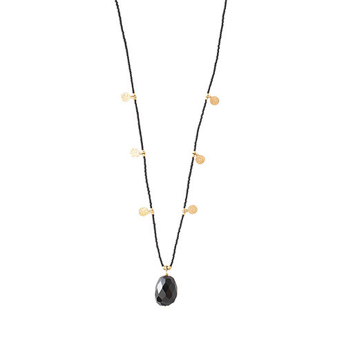 Charming Black Onyx Necklace