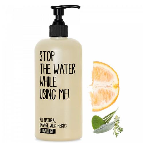 Shower Gel Orange & Wild Herbs