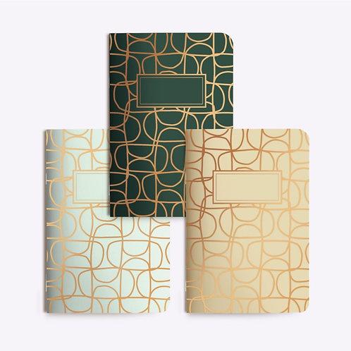 """Notebooks Trio """"ABSTRAIT"""""""