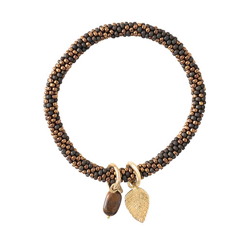 Jacky Multi color Tiger Eye Bracelet