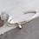Thumbnail: Pure Smokey Quartz Silver Bracelet