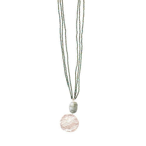 Cheerful Labradorite Necklace