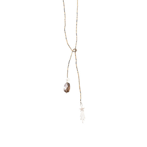Nova Smokey Quartz Necklace