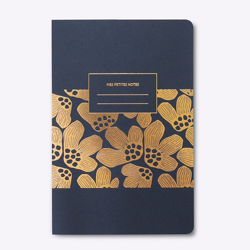 "Square Back Notebook ""PAVOT"""