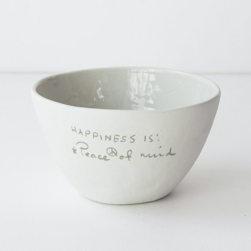 Cup Historias  *Happiness is: Peace of Mind