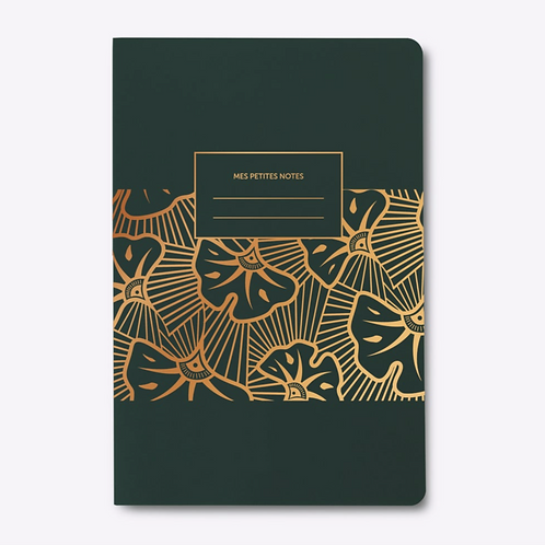 """Square Back Notebook """"WAX"""""""