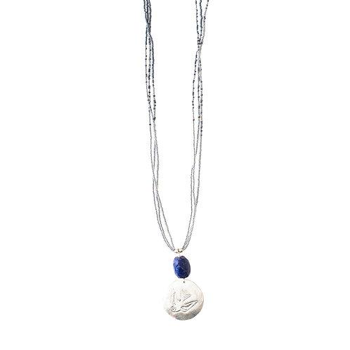 Cheerful Lapis Lazuli Necklace
