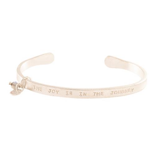 Pure Labradorite Silver Bracelet