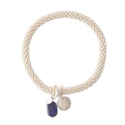Jacky Lapis Lazuli Butterfly Bracelet