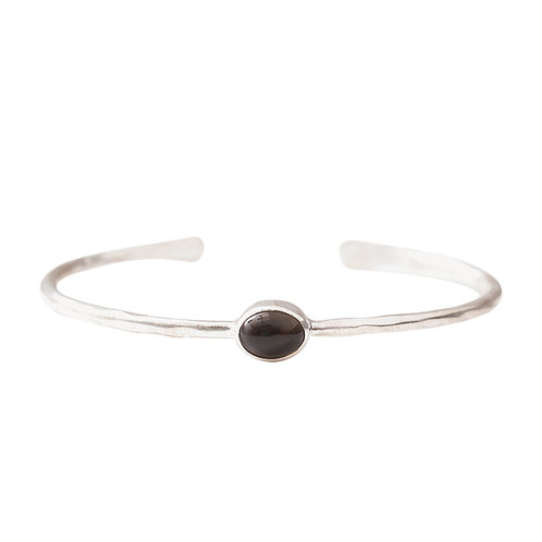 Moonlight Smokey Quartz Bracelet