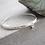 Thumbnail: Pure Labradorite Silver Bracelet