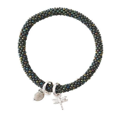 Jacky Multi color Labradorite Bracelet