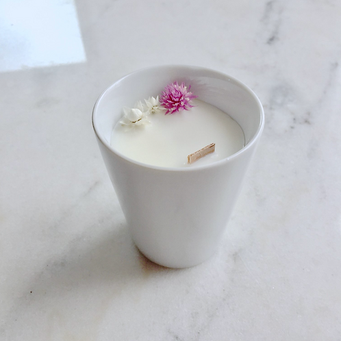 Flower Candle Jasmin - Small