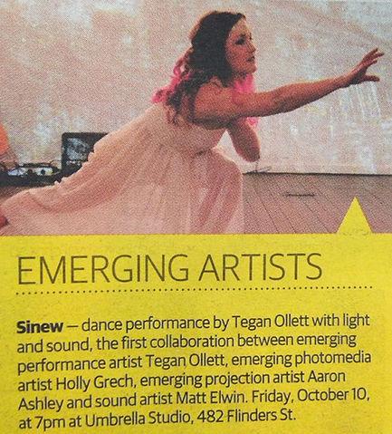 Sinew Tegan Ollett Townsville Eye Bulletin