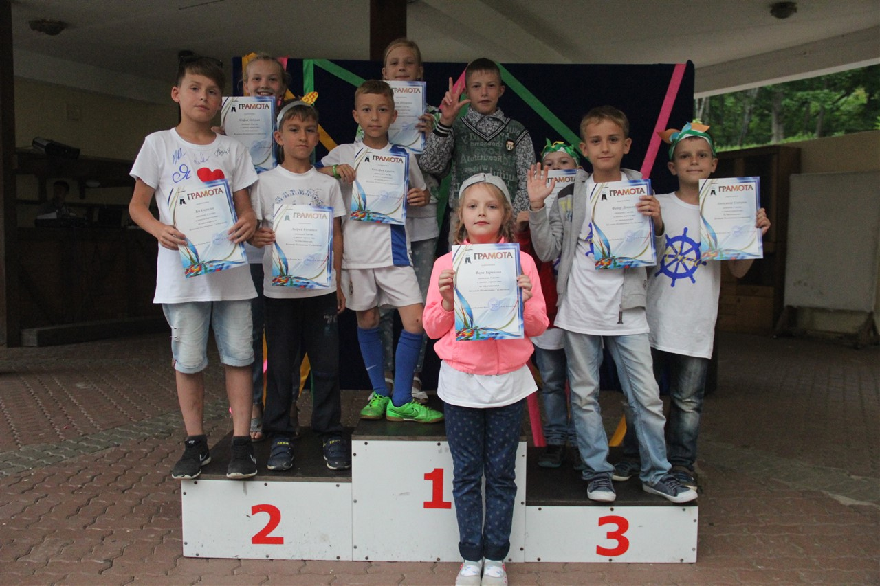 Детский лагерь Юнга Приморский край Приморье