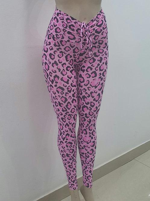 Legging animal print pink