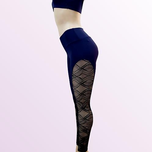 Legging renda lateral