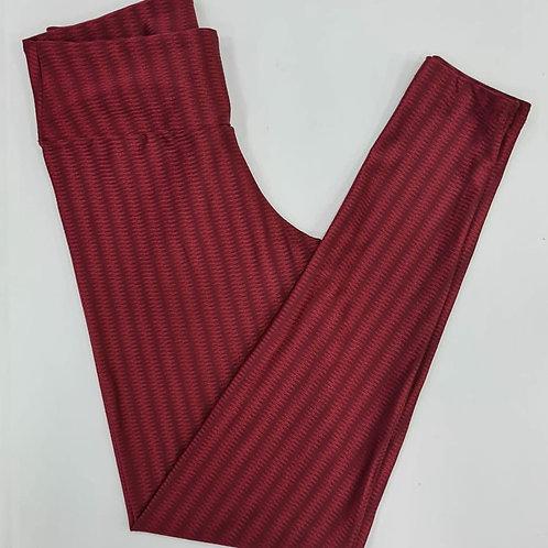 Legging - mod.390t-01-cor vermelho