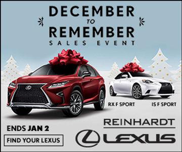 Reinhardt Lexus display ad