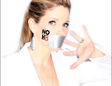 PHOTO CALL: Broadway's Best Pose for NOH8 Portraits