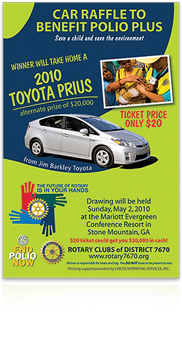 Rotary Club 7670 poster 2010