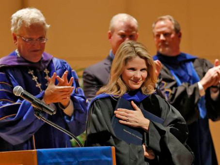 Kelli O'Hara receives honorary doctorate from Oklahoma City University
