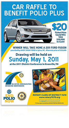 Rotary Club 7670 poster 2011