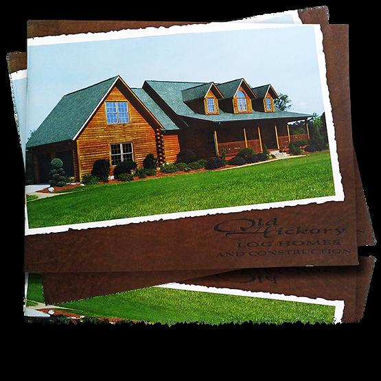 Old Hickory Log Homes presentation cover
