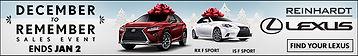 Reinhardt Lexus banner ad